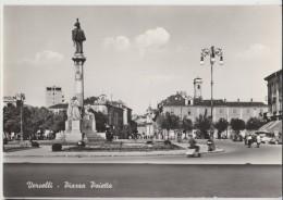 SVENDITA VERCELLI PIAZZA PAIETTA   F/G VIAGGIATA 1957 - Vercelli