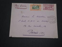 FRANCE / SÉNÉGAL - Enveloppe De St Louis Pour La France En 1932 Par Avion , Affranchissement Plaisant - A Voir - L 4703 - Sénégal (1887-1944)
