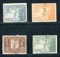 EL SALVADOR CENTRAL AMERICAN GAMES SPECIMEN 1935 - El Salvador