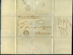 VENEZUELA/FRENCH PACKET/BORDEAUX 1870 - Venezuela