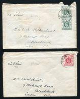 CHINA BRITISH P.O. SHANGHAI 1911 - Hong Kong (...-1997)