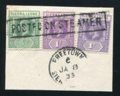 SIERRA LEONE KG5 MARITIME - Sierra Leone (...-1960)