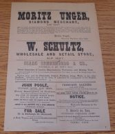 SOUTH AFRICAN DIAMOND NEWS NEWSPAPER 1871 - Old Paper