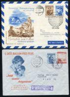 AUSTRIA CHILDREN BALLOON FLIGHTS 1949 + 1951 - Austria