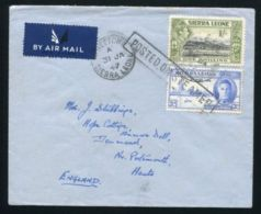 SIERRA LEONE KG6 VICTORY MARITIME 1947 - Sierra Leone (...-1960)