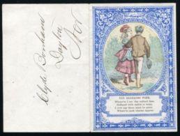 USA VALENTINE LETTER SHEET - Old Paper