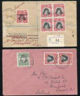 NIUE CAPTAIN COOK SILVER JUBILEE REGISTERED 1935 - Niue
