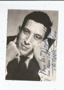 PHILIPPE CLAY CARTE AVEC AUTOGRAPHE - Autographes