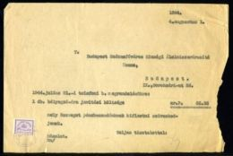 HUNGARY 1944 TELEPHONE ACCOUNT - Hungary