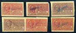 ITALY 1925-28 PNEUMATIC POST - Italy