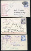 TONGA TIN CAN MAIL 1934- 1962 AMAZING COLLECTION - Tonga (...-1970)