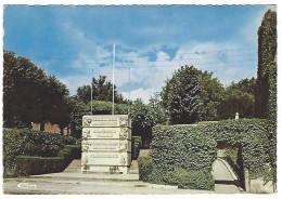 02 CHAUNY - MONUMENT DE LA RÉSISTANCE ET DÉPORTÉS Sculpteur BIZETTE LUIDET - Chauny