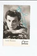 LUCKY BLONDO CARTE AVEC AUTOGRAPHE - Autographes