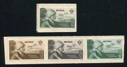 ERITREA ROME MOGADISHU FLIGHT UPU SPECIMENS 1934 - Italy