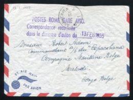 AIR CRASH AND WRECK 1955 BELGIUM ITALY BELGIAN CONGO - Belgium