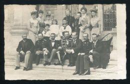 ORIGINAL PHOTO POSTCARD KAISER WILHELM II SAXE MEININGEN SCHAUNBURG LIPPE - Other Collections