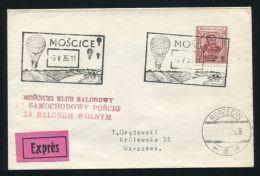 BALLOON FLIGHT POLAND MOSCICE 1935 - Poland