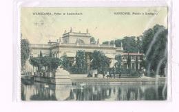 Warszawa - Palac W  Lazienkach - Varsovie Palais à Lazienky1911 - Timbre/Stamp - Pologna-Poland-Russia - Pologne