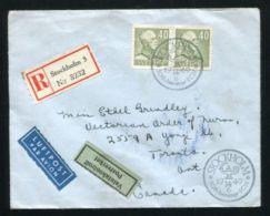 SWEDEN UPU 1949 SUPERB COMMERCIAL COVER TO CANADA - Sweden