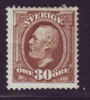 SWEDEN 1891-1911 30o - Sweden