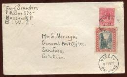BAHAMAS 1922 TO COSTA RICA - Bahamas (...-1973)