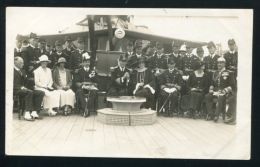 KING ALFONSO XIII AND QUEEN ENA OF SPAIN 1927 ON BOARD THE YACHT CURACUA - Unclassified