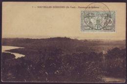 NEW HEBRIDES 1925 BELLEVUE POSTCARD ILE VATE - New Hebrides