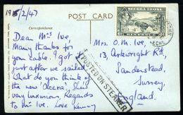 SIERRA LEONE KG6 MARITIME M.V. ACCRA - Sierra Leone (...-1960)