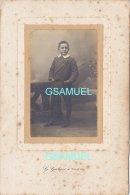 Photographie Originale  - (G. Galais à Cholet) Format Hauteur 16,5 Cm Largeur11 Cm . - (voir Scan). - Photos