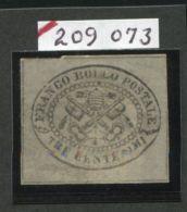 ITALY PAPAL STATES 1867 REPRINT - Italy