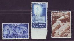 ITALY 1949 UPU, 1951 MILAN - Italy