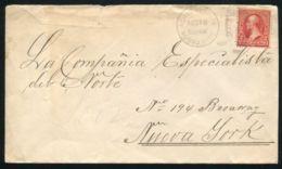 PUERTO RICO U.S. 1901 COVER AGUADILLA STATION - America (Other)