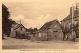 76 LONGUEVILLE-sur-SCIE  La Poste Et Le Chemin De Criquetot - France