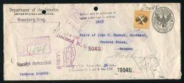 US MARITIME SS MANHATTAN GERMAN SEA POST 1932 - Postal History