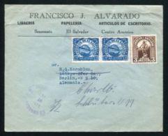EL SALVADOR SONSONATE 1933 COVER BRIDGES - El Salvador