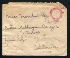 BRAZIL STATIONERY 1930 RIO GRANDENORTE HOLLYWOOD U.S.A. - Brazil