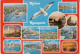 Italy, Riviera Romagnola, Multi View, Used Postcard [19027] - Rimini