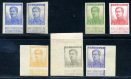 BELGIUM KING ALBERT 1 PROOFS - 1915-1920 Albert I