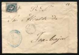 PUERTO RICO 1867 GUAYAMA TO TOA BAJA - Stamps