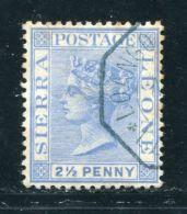 SIERRA LEONE QV FRENCH MAILBOAT POSTMARK! - Sierra Leone (...-1960)