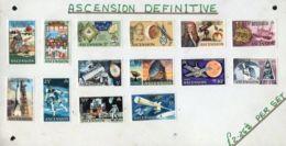 ASCENSION DEFINITIVE 1970 SPECIMENS SPACE TRAVEL - Ascension