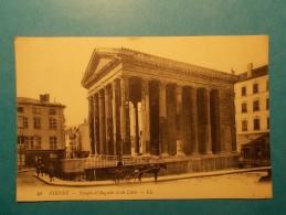 Carte Postale - VIENNE (38) - Temple D'Auguste Et De Livie (121/130) - Vienne