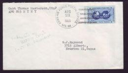 USA-RAFFIN ISLAND RADAR SITE COVER 1955 - Postal History