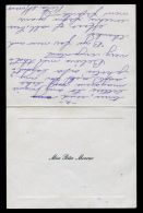 HAND SIGNED NOTE RITA MORENO WEST SIDE STORY SINGIN' IN THE RAIN ACTRESS - Autographs