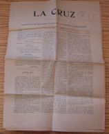 GUATEMALA LA CRUZ NEWSPAPER POSTA LOCALE 1903 - Old Paper