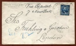 PUERTO RICO U.S. 1902 MAYAGUEZ TO LONDON - Stamps