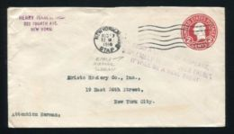U.S.A. 1918 NEW YORK EARLY AIRMAIL CACHET STATIONERY - Postal History
