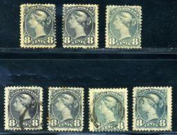 CANADA 1893 8c LOT - Canada