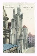 1911 - Warszawa - Kosciol Sw. Jana - Varsovie - L`église De S-t Jean - Timbre/Stamp - Pologna-Poland-Russia - Pologne