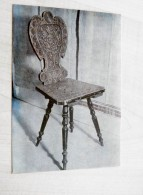 Post Card From Lithuania 1975 19th Cent. Chair Stuhl - Litauen